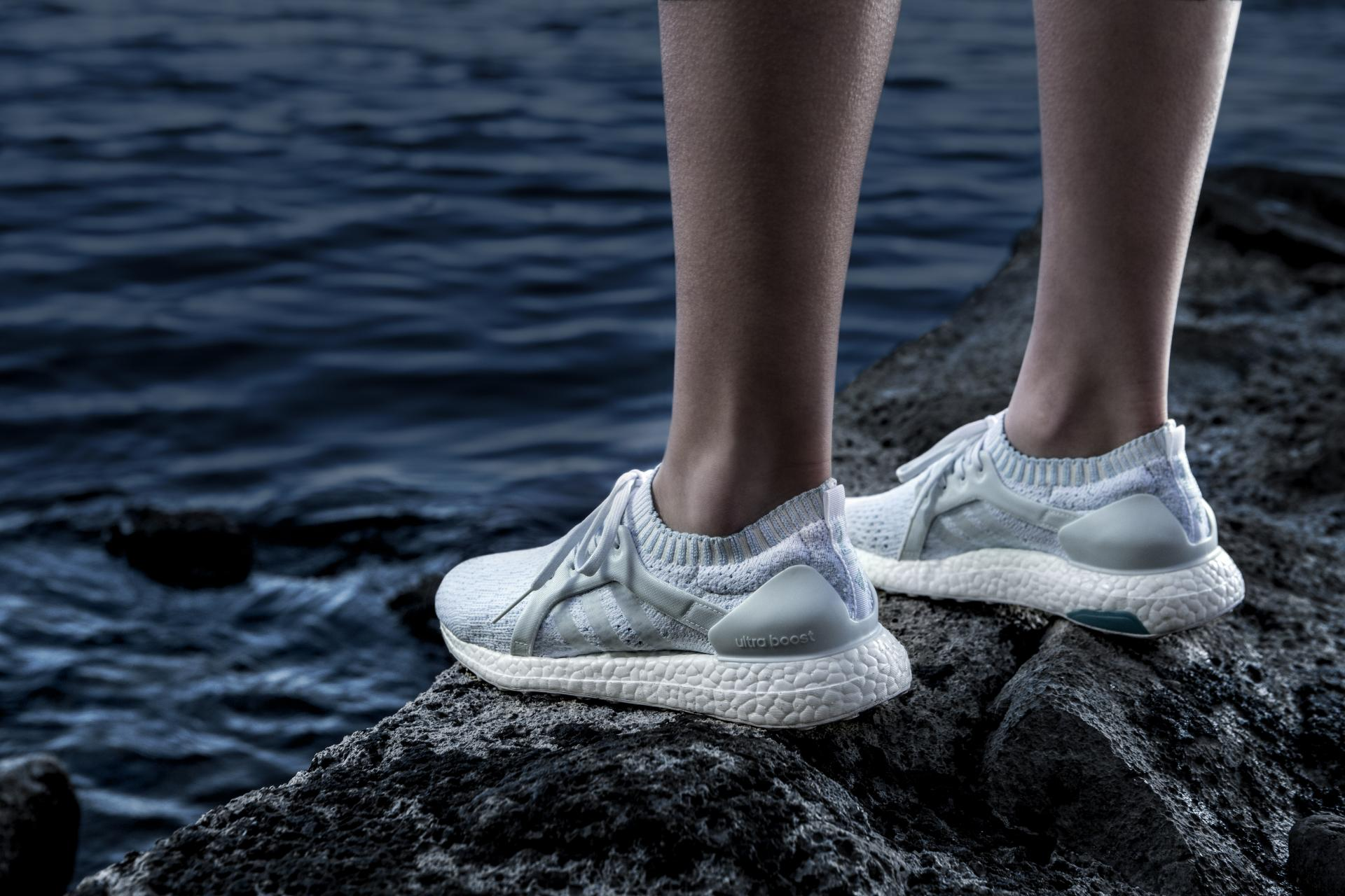 Adidas x Parley New Colourway Collection; Referencing Coral Bleaching