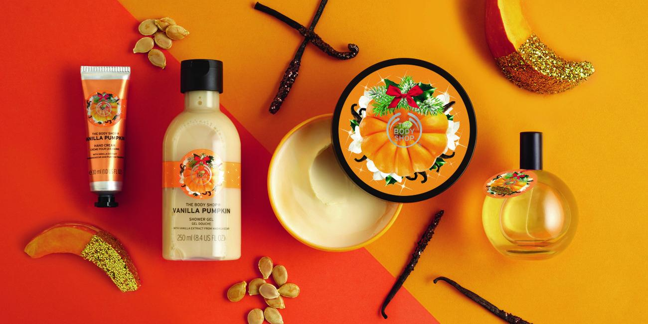 Pumpkin Halloween Fun with The Body Shop
