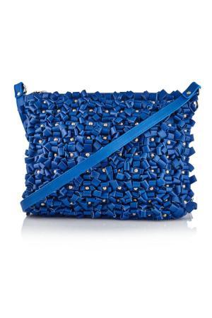 MANLEY Parker Bag electric Blue