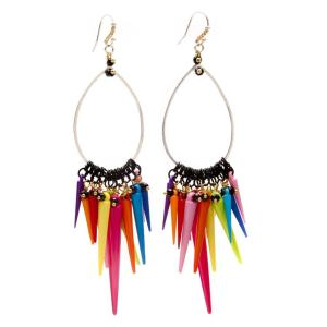 Melissa Curry Ohlala Hoop Earring