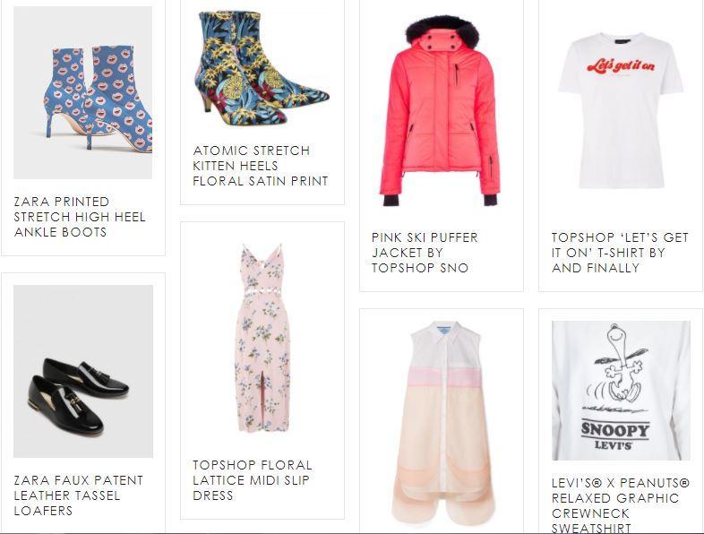 New Floralesque 'Shop' Page Now Live