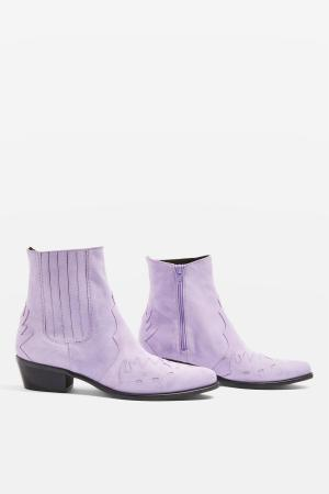 TOPSHOP Arrow Western Boots