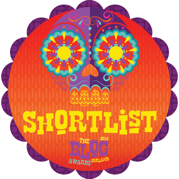 Shortlisted - Blog Awards Ireland 2018