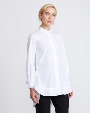 New take on the classic white shirt