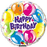 18 Inch Birthday Sparkling Balloons Foil