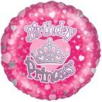 18 Inch Happy Birthday Princess Foil b
