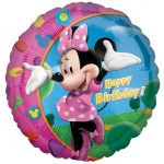 18 Inch Minnie Happy Birthday Foil