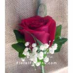Single-Red-Rose-Boutonniere