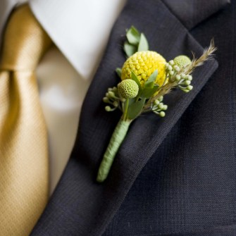 billy ball boutonniere