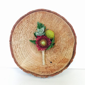 fun elements boutonniere
