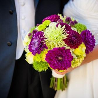 bridal bridesmaids bouquets floral sunshine