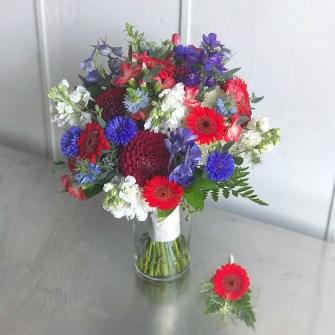 Super heroes bridal bouquet