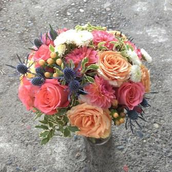 Coastal elopement bouquet