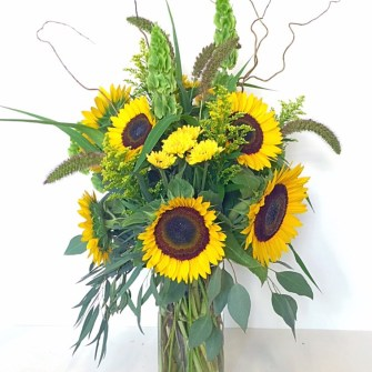 Sunflower Themed BBQ - Large Arrangement