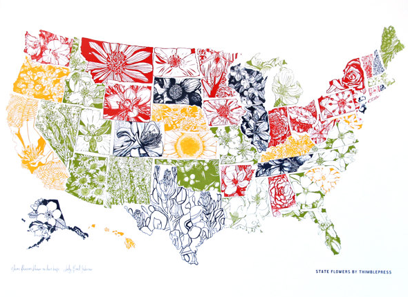 Quiz: Can You Match These State Flowers To Their States?