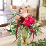 bridal bouquet centerpiece