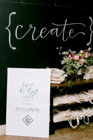 Entry Signage by Peach Paper Designs