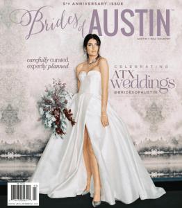brides of austin magazine cover