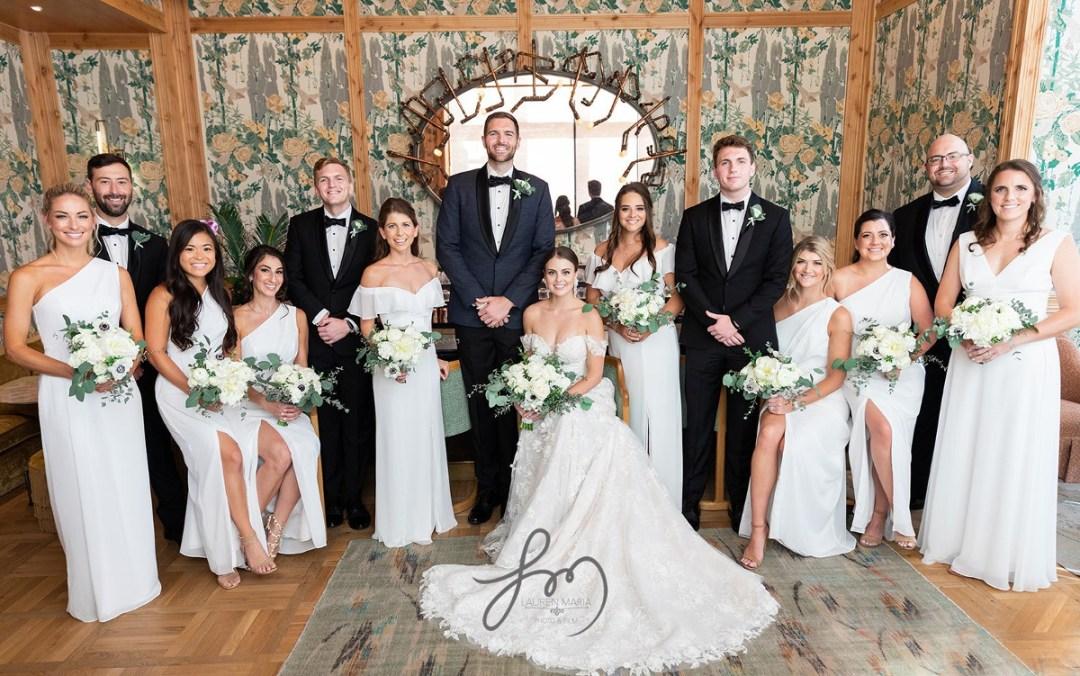 moraya + dutch wedding party