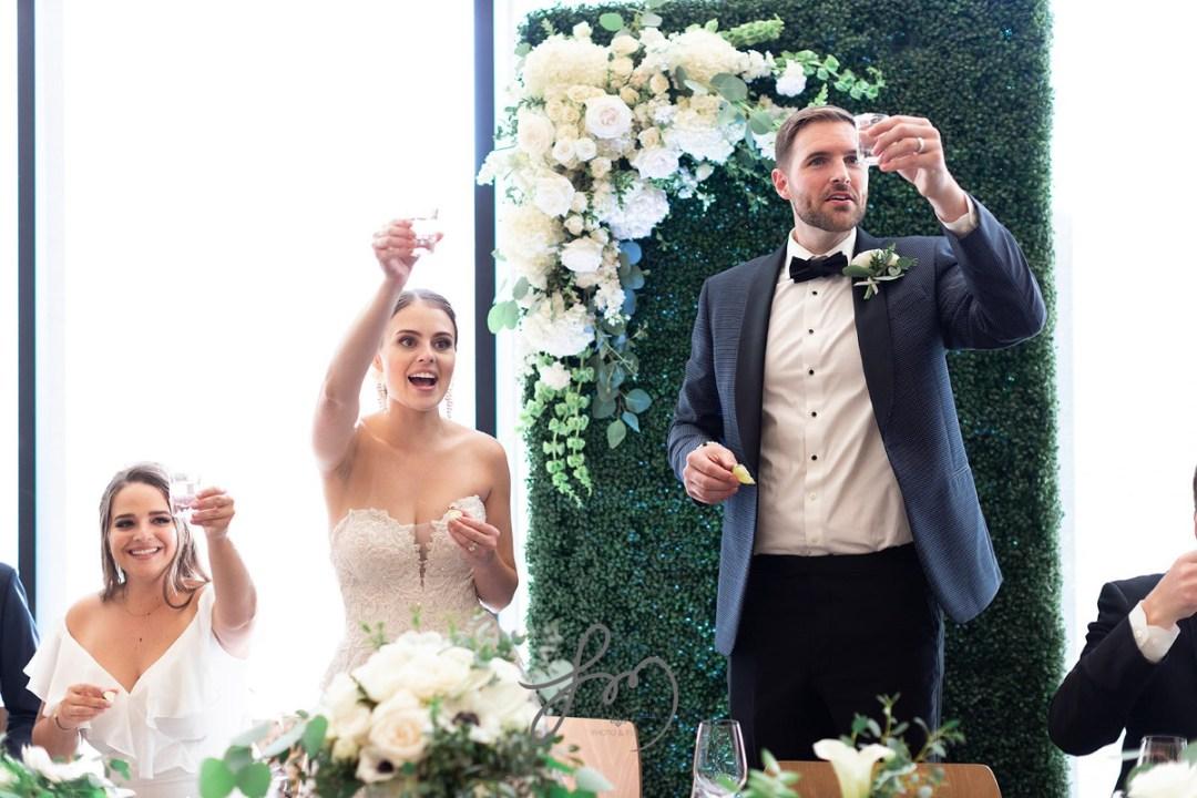 moraya + dutch toast wedding guests