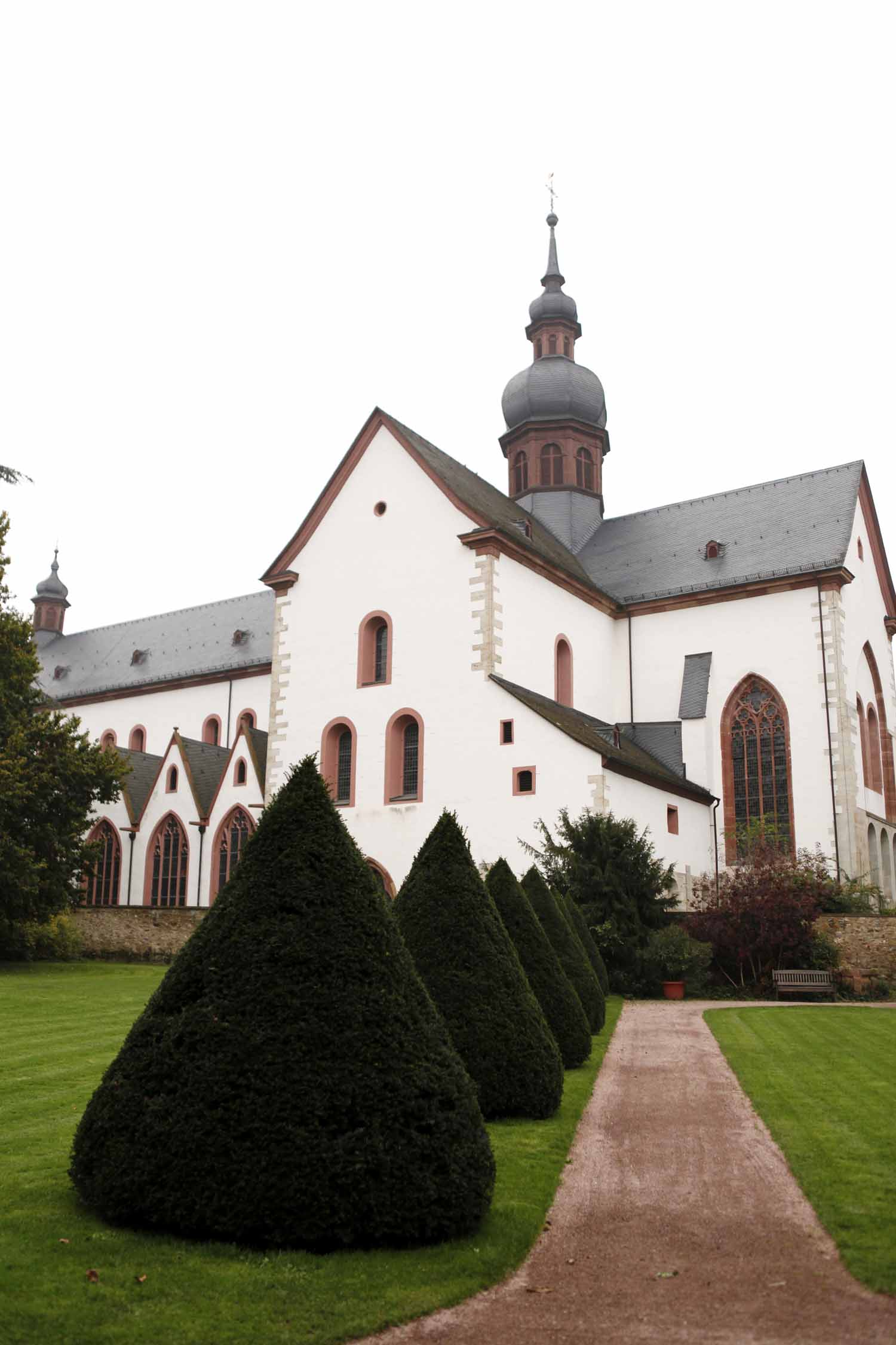 Kloster Eberbach in Rheingau Germany, location of the wedding style shoot by Flora Nova Design, Seattle