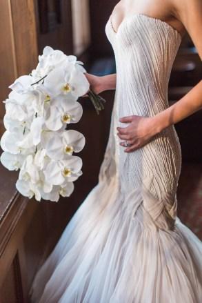 Flora Nova Design Seattle - Orchid Wedding at the Rainier Club. phalaenopsis orchid bridal bouquet