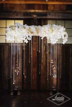 Flora Nova Design Seattle Luxury White Wedding Sodo Park Arch