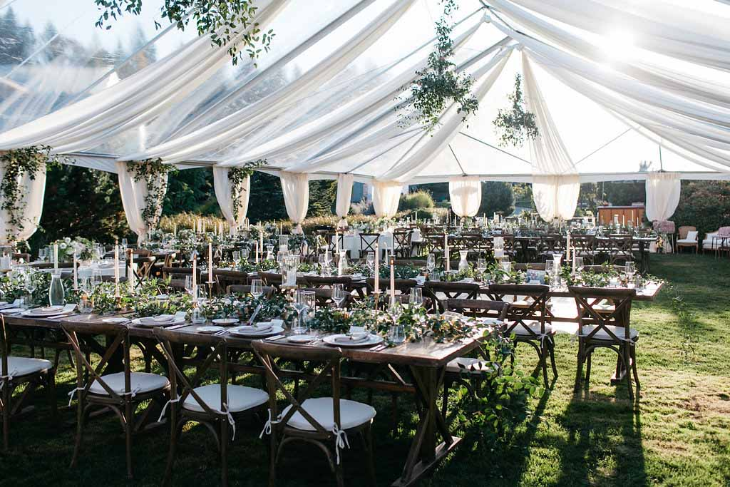 Elegant Seattle Garden Wedding by Flora Nova Design Seattle