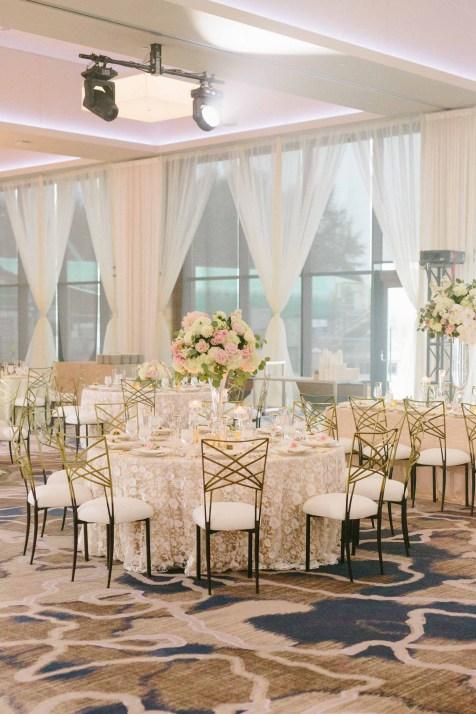 Luxe Ballroom East Indian Fusion Wedding at hyatt regency lake washington