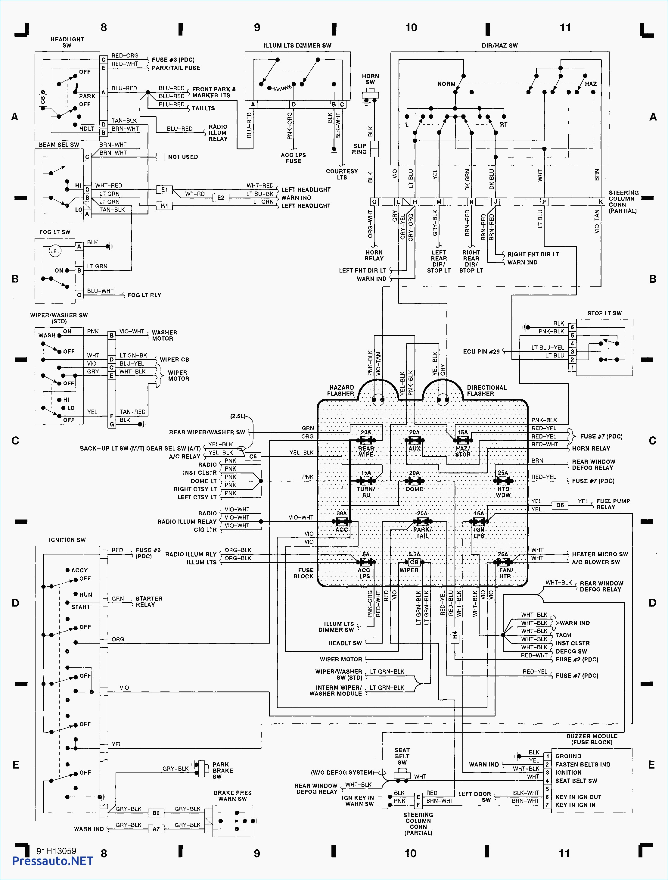 Wiring Diagram For Jeep Yj