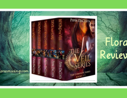 Featured Image - The Veil Series Box Set 1-5 by Pippa DaCosta