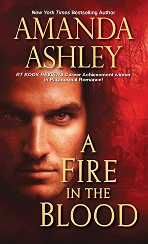 cover for A Fire in the Blood by Amanda Ashley