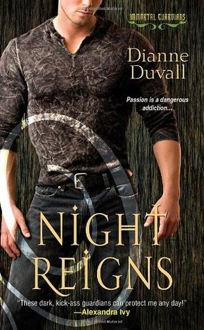 book cover for Immortal Guardians 2 - Night Reigns by Dianne Duvall