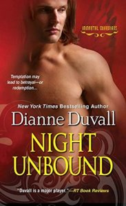 book cover for Immortal Guardians 5 - Night Unbound by Dianne Duvall