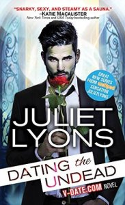 Flora Reviews: Dating The Undead (Bite Nights #1) by Juliet Lyons @WriterJLyons