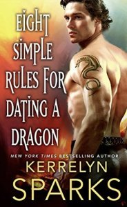 book cover for The Embraced 3 - Eight Simple Rules For Dating A Dragon by Kerrelyn Sparks