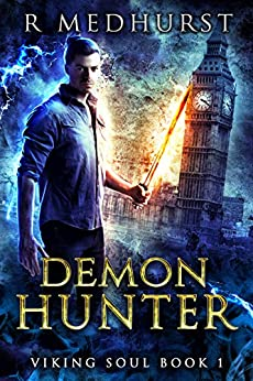 book cover for Viking Soul 1 - Demon Hunter - new title by Rachel Medhurst