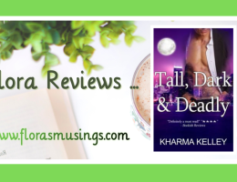 ARC Featured Image - Agents of the Bureau 1 - Tall Dark and Deadly by Kharma Kelley