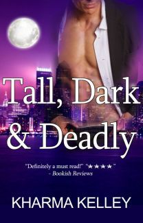 book cover for Agents of the Bureau 1 - Tall Dark and Deadly by Kharma Kelley