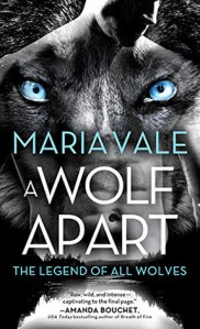ARC Review: A Wolf Apart (The Legend of All Wolves #2) by Maria Vale