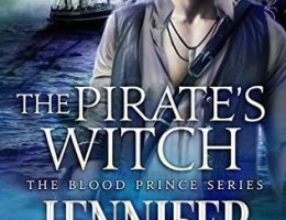 boo cover for Blood Prince 6 - The Pirates Witch by Jennifer Blackstream