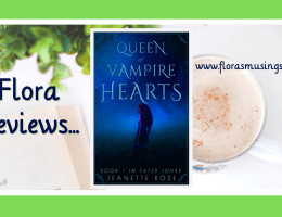 ARC Featured Image - Fated Loves 1 - Queen of Vampire Hearts by Jeanette Rose