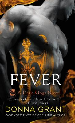 book cover for Dark Kings book 16 - Fever by Donna Grant