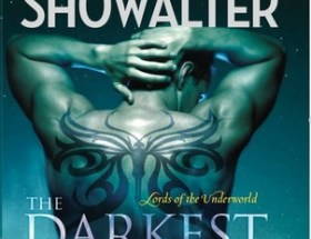 book cover for lords of the underworld book 5 - the darkest passion by Gena Showalter