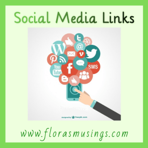 social media links graphic