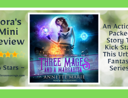 Featured Image - The Guild Codex Spellbound 1 - Three Mages and a Margarite by Annette Marie - Narrated By Cris Dukehart