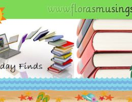 Header graphic for Friday Finds posts in Summer August