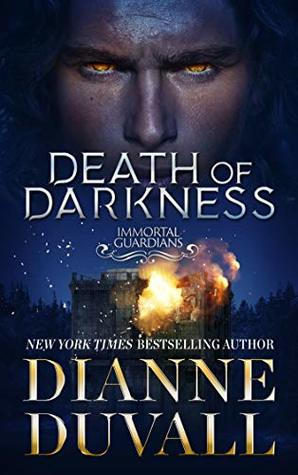 book cover for Immortal Guardians book 9 - Death of Darkness by Dianne Duvall