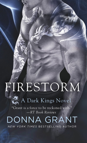 book cover for Dark Kings 10 - Firestorm by Donna Grant