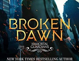 book cover for Broken Dawn (Immortal Guardians #10) by Dianne Duvall